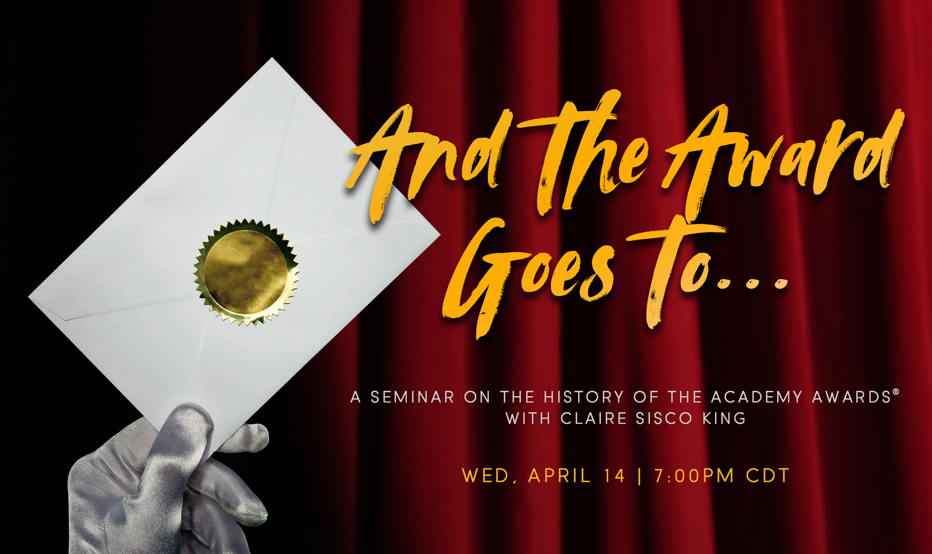 Seminar: And the Award Goes To…