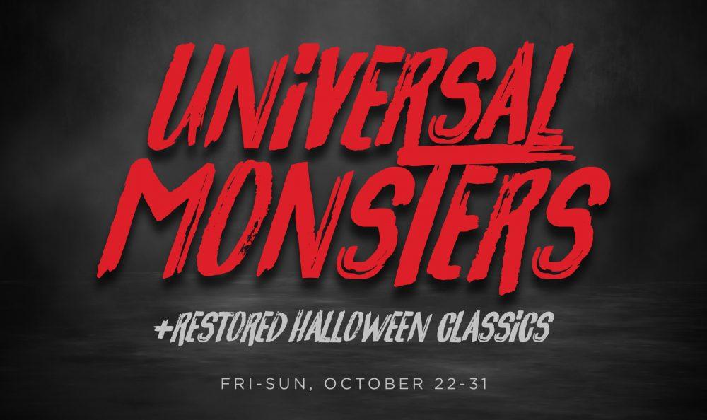 Universal Monsters + Restored Halloween Classics